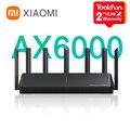 Neue 2021 Xiaomi AX6000 AIoT Router 6000Mbs WiFi6 VPN 512MB Qualcomm CPU Mesh Repeater Externe Signal Netzwerk Verstärker Mi hause