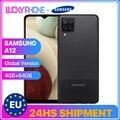 Globale Version Samsung Galaxy A12 Smartphone 4G 64G 6,5 Zoll Bildschirm Octa Core Mediatek MT6765 Helio P35 Bluetooth 5,0 5000mAh