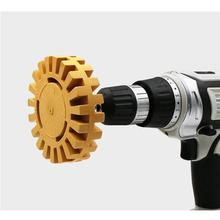 4 дюйма 100 мм универсальный резиновый ластик колеса для удаления клея Автомобиля клейкая наклейка авто ремонт краски инструмент