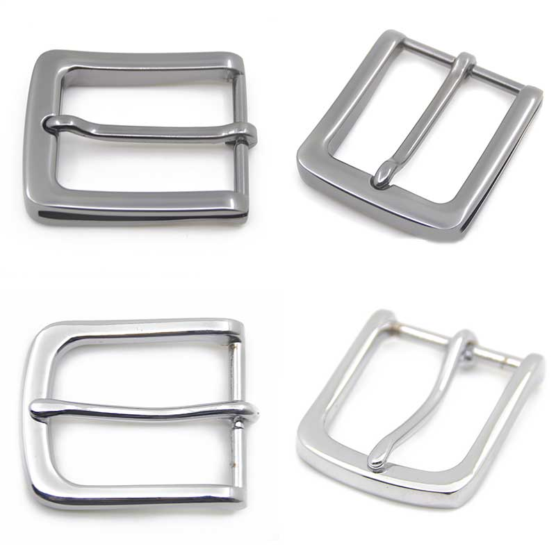 35mm Metal Pin Buckle Fashion Waistband Belt DIY Replacement Leather Craft Buckle High Quality Silver Men's Buckle Accessories