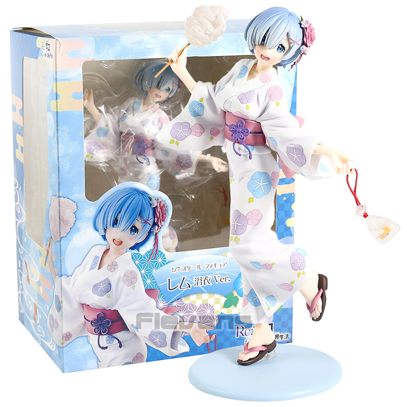 Re Zero Starting Life in Another World Rem Yukata Ver. PVC Figure Collectible Model Toy|Action Figures| - AliExpress
