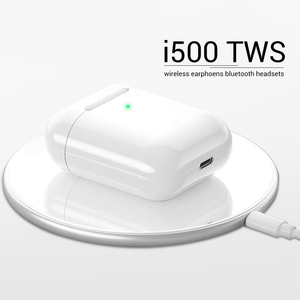 I500 Tws 1:1 Replica Real 3 Battery Pop Up Bluetooth Wireless Charging Earphones I 500 Tws In-ear Smart Sensor Eurbuds I500tws