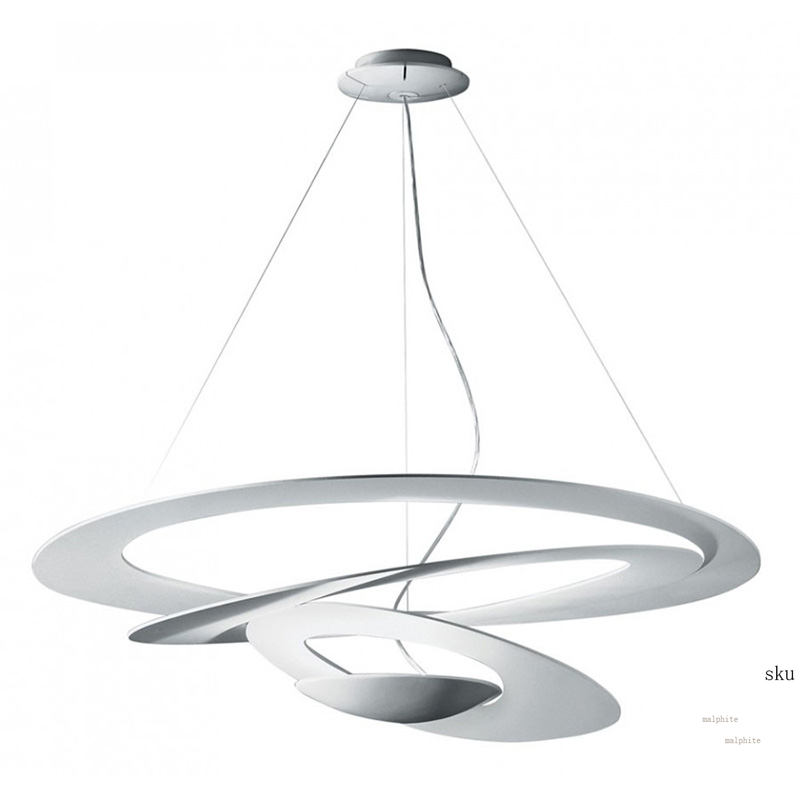 Nordic UFO Spiral Pendant Lights Cafe Hotel Living Room Bedroom Pendant Lamp Modern Dining Room Home Decor Lighting Luminaire