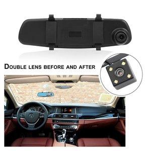 Dual Lens Car Camera Rearview