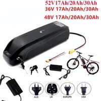 2021 batteria Ebike 48V 20AH 36V 10AH 52V 17AH bici elettrica Samsung agli ioni di litio 18650 celle confezione adatta per motore Bafang bici elettrica