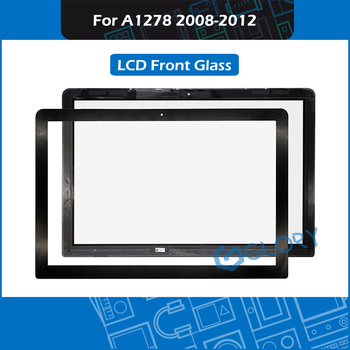 """5pcs/Lot A1278 LCD LED Front Glass Panel For Macbook Pro 13"""" A1278 Glass Replacement 2008 - 2012"""