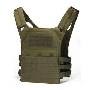 Image 3 - Тактический бронежилет JPC Molle для переноски тарелок, военное снаряжение, армейский охотничий жилет, уличный жилет для пейнтбола, CS Wargame, страйкбола