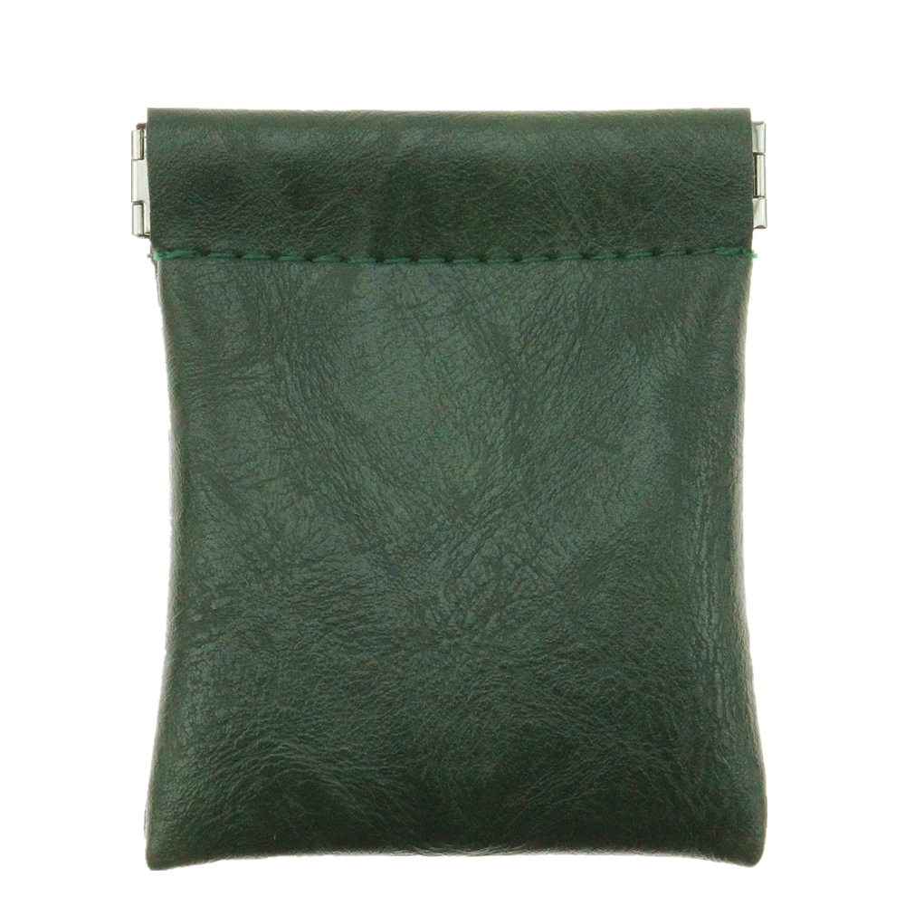 New Fashion Solid Brown Green Faux Sheepskin Pu Leather Coin Purse Women Men Small Short Wallet Bag Little Key Card Holder Gift