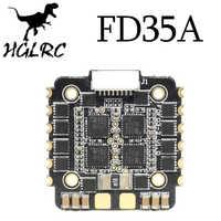 HGLRC FD35A 35A 4 en 1 Blheli_32 3-6S sin escobillas ESC DSHOT1200 para RC Drone FPV carreras de 20x20mm