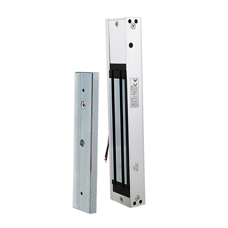 Electronic Door Lock Safurance Single Door 12V Electric Magnetic Electromagnetic Lock 280Kg(600 Lb) Magnetic Lock Access Control