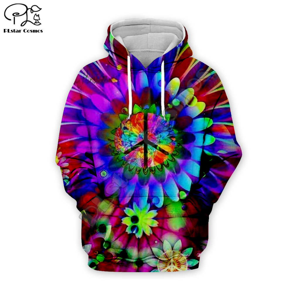 Mens Pullover Hoodie Unisex Funny 3D Cute Colorful Hoodie with Pocket Thin Fall Warm Hooded Sweatshirt