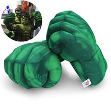 Cosplay Hulk smash hand spider plush man gloves running accessories toys children's party Halloween gifts