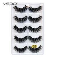 mink false eyelashes makeup 3d mink lashes natural long fake lashes