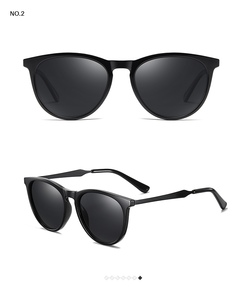 H41b471297dfb4fd8a53f7e0d9bde46045 AEVOGUE New Women Polarized Korean Fashion Sunglasses Men Driving Retro Outdoor Glasses Brand Design UV400 AE0816