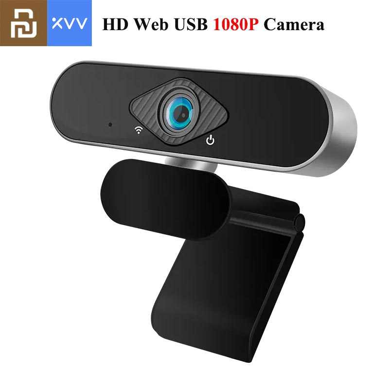 Youpin Xiaovv 1080P Webcam Met Microfoon 150 ° Groothoek Usb Hd Camera Laptop Computer Webcast Voor Zoom Youtube skype Facetime