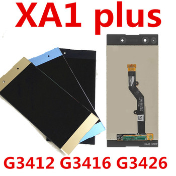 JIEYER 5.5 For Sony Xperia XA1 Plus G3412 G3416 G3426 G3412 G3421 Lcd Screen Display With Touch Digitizer Assembly Repair Parts
