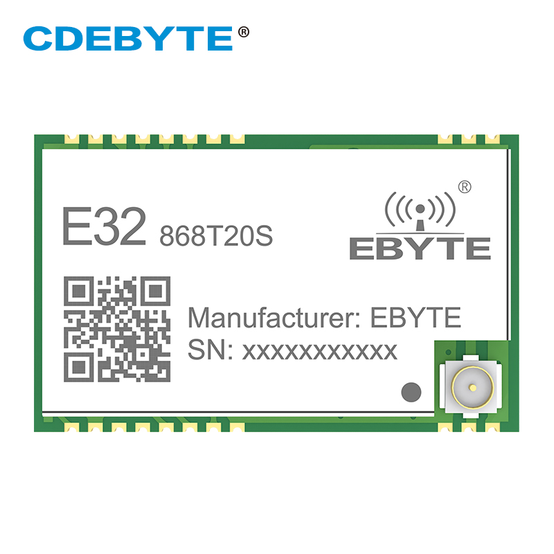 10pcs EBYTE E32-868T20S SX1276 LoRa 868 MHz IPEX 100mW SMD Wireless Transceiver 868mhz TTL Long Range Transmitter And Receiver