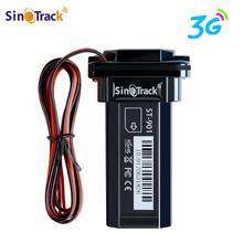 3G WCDMA البسيطة المقتفي ماء بطارية مدمج GPS ST 901 ل سيارة جهاز نظام تحديد المواقع دراجة نارية مع على الانترنت تتبع البرمجيات