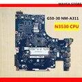 ACLU9/ACLU0 NM A311 MAIN BOARD Für Lenovo G50 G50 30 Laptop Motherboard DDR3 mit N2840/N2830 Prozessor  100% ARBEITS!-in Laptop-Hauptplatine aus Computer und Büro bei