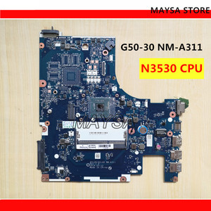 ACLU9 / ACLU0 NM-A311 MAIN BOARD For Lenovo G50 G50-30 Laptop Motherboard DDR3 with N2840 / N2830 Processor, 100% WORKING !(China)