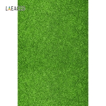 Laeacco Green Grass Screen Stage Wedding Portrait Photography Backgrounds Customized Photographic Backdrops For Photo Studio kate photography backdrops smart watch wearable devices green screen chromakey backgrounds for photo studio