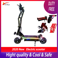 Luxury 95km/h 5000w 11inch Off Road Electric Scooter 42ah Samsung Battery E Scooter Patinete Electrico Adulto Foldable Escooter