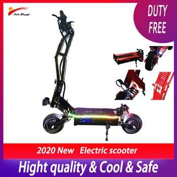 Scooter Eléctrico de lujo de 95 km/h, 5000w, 11 pulgadas, todoterreno, batería de 42ah Samsung, Patinete eléctrico Adulto plegable