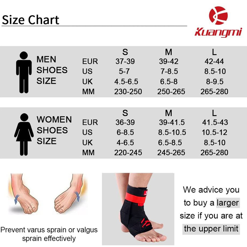 Купить с кэшбэком Kuangmi 2 PC Ankle Support Brace Guard Sports Running Compression Ankle Sleeve Adjustable Ankle Straps Sprained Ankle Protector