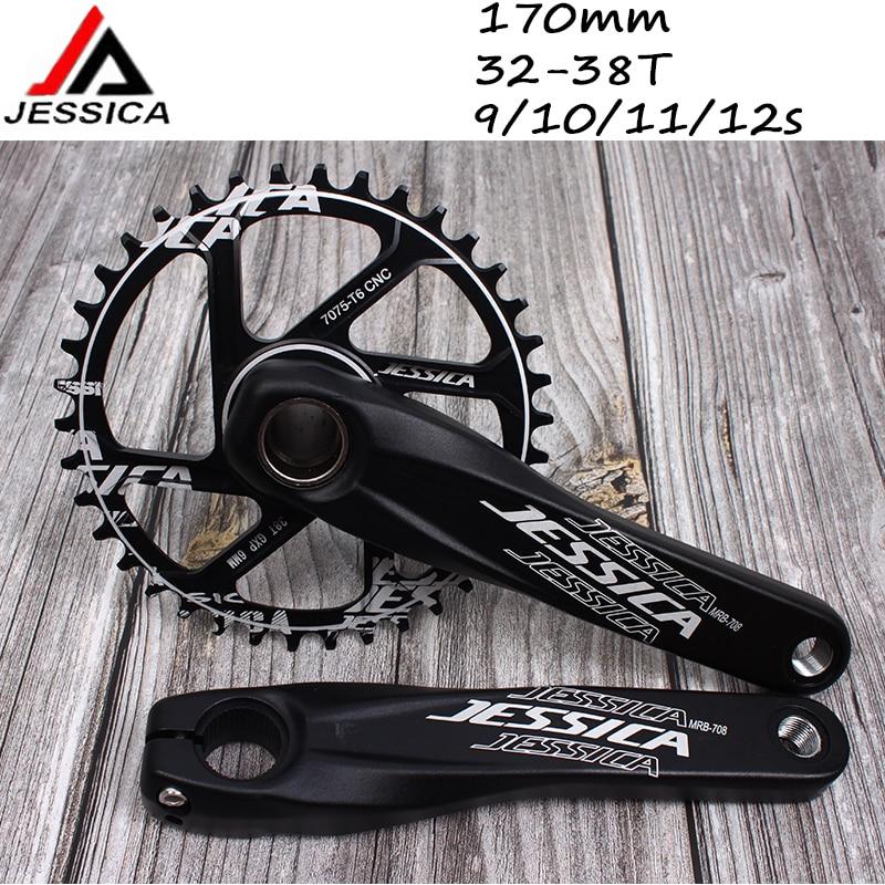 LITEPRO MTB Road Bike BCD130 Chainring 45T 47T 53T 56 58T Crank arm 170 Crankset