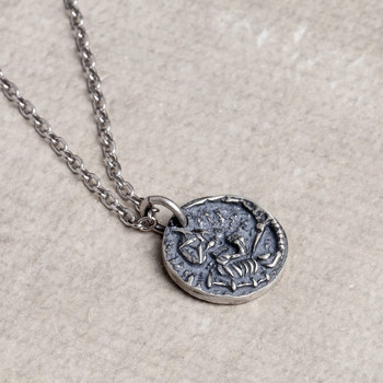 цена Emith Fla Necklaces & Pendants 925 Sterling Silver Necklace Pendant Punk Women Men Silver Jewelry Thai Silver European Style онлайн в 2017 году