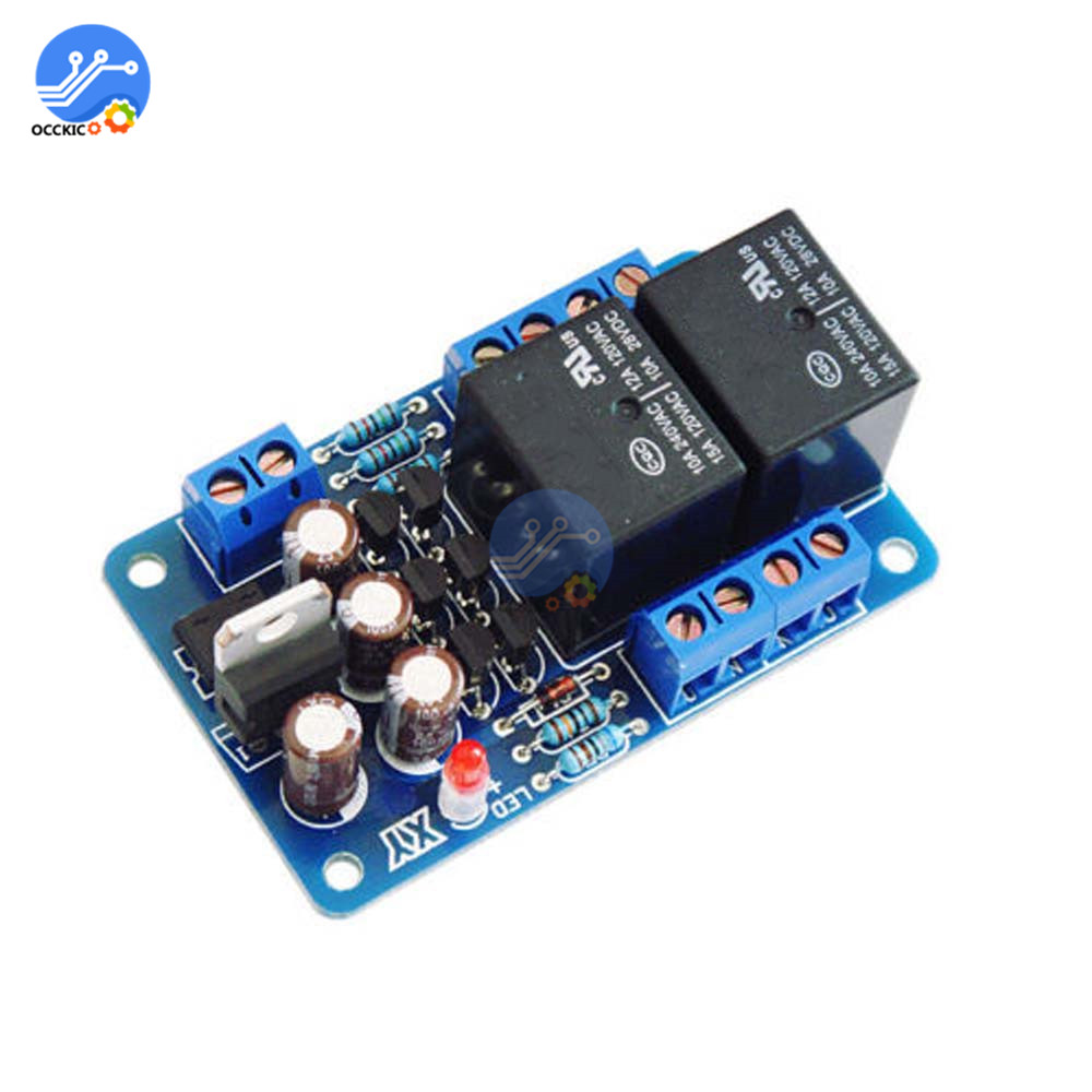 Audio Portable Speakers Protection Board Speaker Protective Module AC 12V-16V Relay Protection Board Amplifier