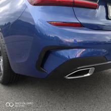 חדש אחורי פגוש ספוילר אוויר Vent כיסוי עבור BMW 3 סדרת 325LI G28 G20 2020