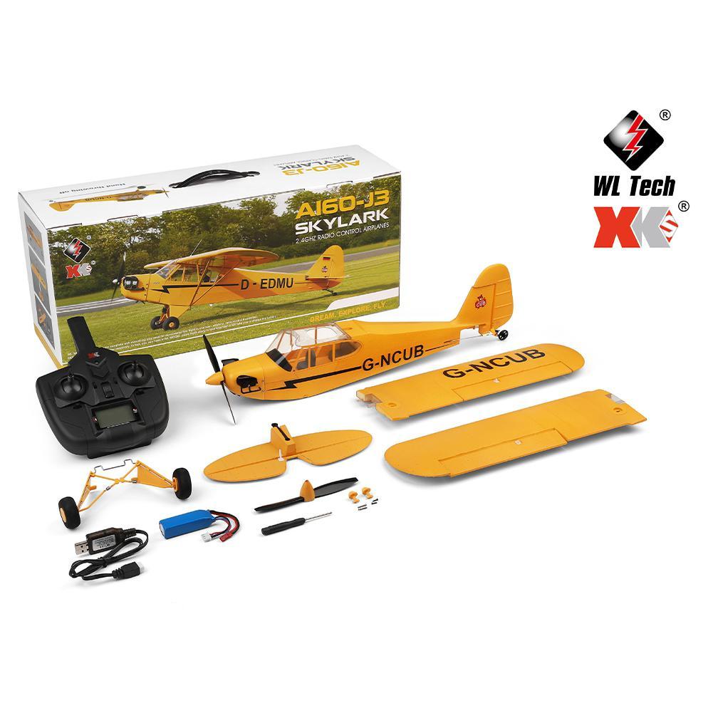 XK A160 RTF EPP RC Drone télécommandé avion modèle RC avion mousse Air jouet avion 3D/6G système 650mm Kit d'envergure 5