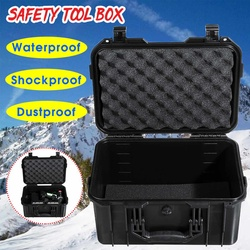 360x270x190mm Plastic Tool Case Protective Safety Instrument Tool Box Waterproof Storage Toolbox Impact Resistant Tool Case