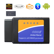 OBD2 Scanner V1.5 ELM327 Bluetooth Auto Diagnostische Scanner Voor Android Elm 327 V 1.5 Obd 2 Auto Diagnostische Tools Real PIC18F25K80