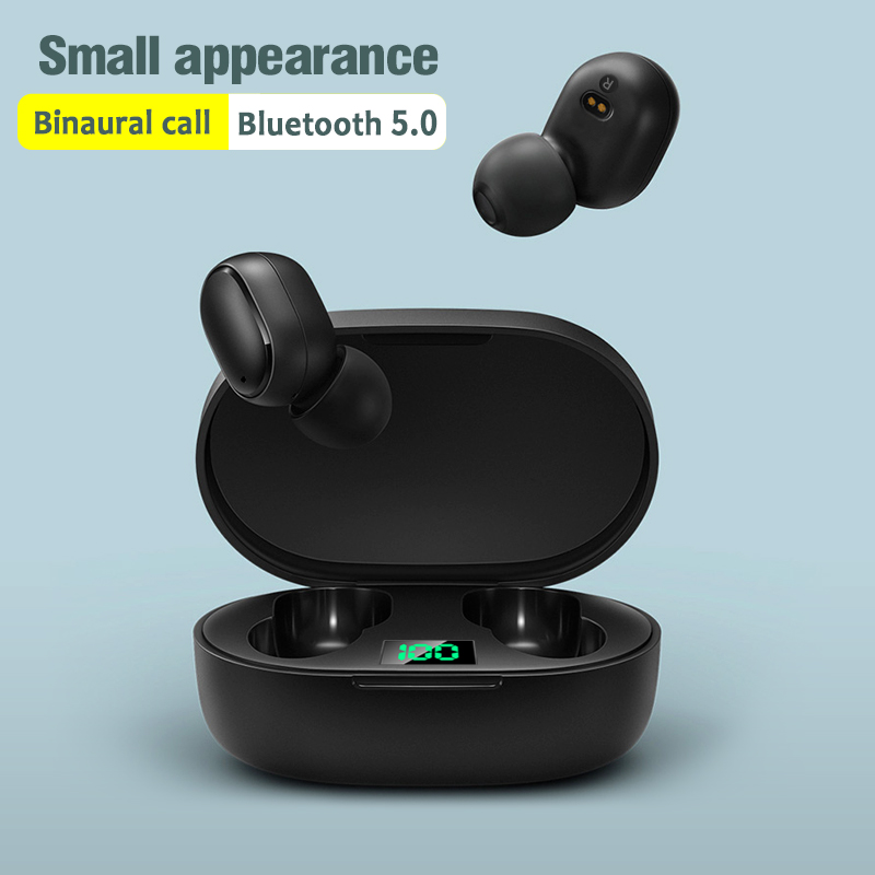 Arlado E6S TWS Bluetooth Earphone Mini Lightweight Touch Wireless Earbuds V5.0 Headphone Noise Cancelling Headset For Smartphone