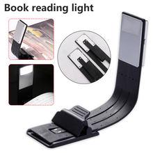 Portable LED Lumière de Livre De Lecture Avec Détachable Agrafe Flexible USB Rechargeable Lampe Pour eBook Cahier Lecteurs LED Livre Lumière