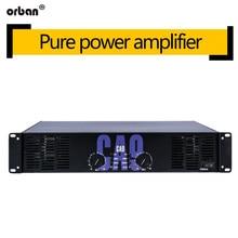 High-power professional power amplifier CA9 pure rear 600W audio amplifier outdoor performance stage amplifier breeze audio a4 holohedral symmetry double difference high power borne power amplifier 250 w x2 hifi amplifier