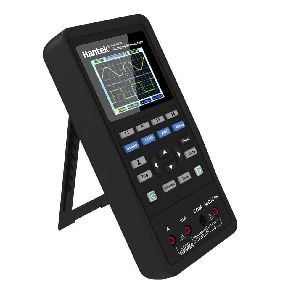 Цифровой осциллограф Hantek2C42 2C72 2D42 2D72 3 в 1 + генератор сигналов + мультиметр портативный USB 2 канала 40 МГц 70 МГц волновая форма G