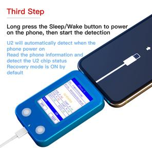 Image 5 - JC U2 Fast Tester U2 IC Charge IC Fault SN Serial Number Reader for iPhone SN Serial Number Test Tool