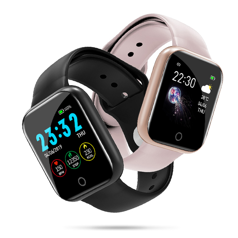 I5 for Apple Watch Pedometer Music Control Multiple Dials Heart Rate Fitness Smartwatch Men Women Android IOS VS B57 Smart Watch 1