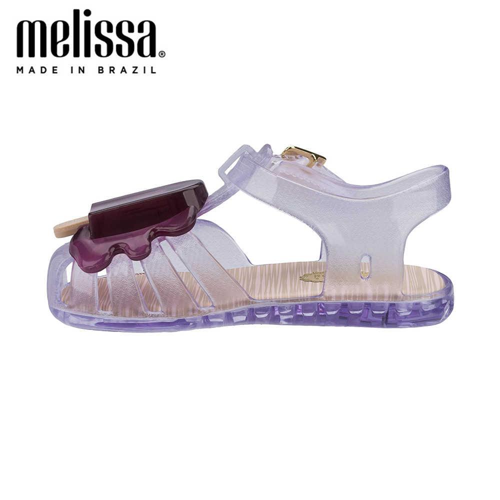 MINI MELISSA Popsicleสาว 2020 ฤดูร้อนรองเท้าMelissaรองเท้าแตะเด็กรองเท้าแตะเด็กวัยหัดเดินZandaliasเด็กรองเท้าเด็กวัยหัดเดิน