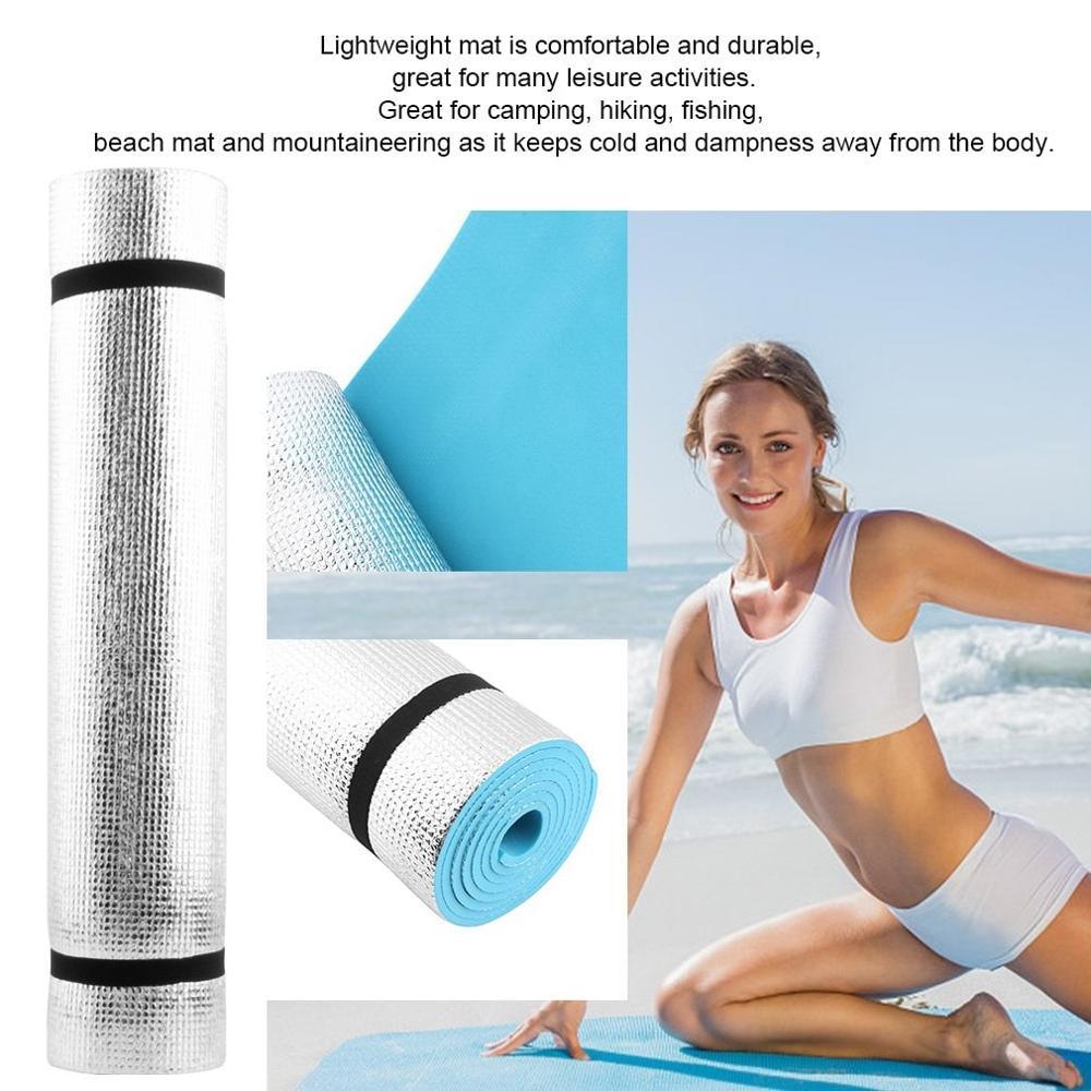 TPE Yoga Mat Carpet Mat For Beginner Environmental Fitness Gymnastics Weight Exercise Gymnastics