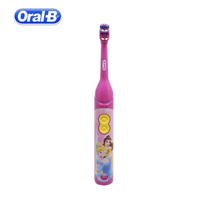 Image 2 - Oral B Children Electric Toothbrush Oral hygiene Teeth Cleaner Kids Stage Power Rotation Cartoon Sonic Tooth brush For Child