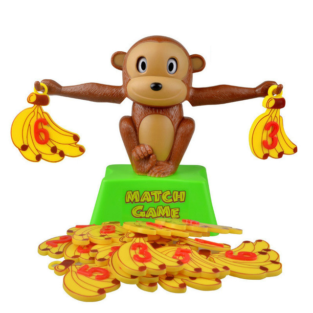 Monkey Math Match Game | Balancing Scale  2