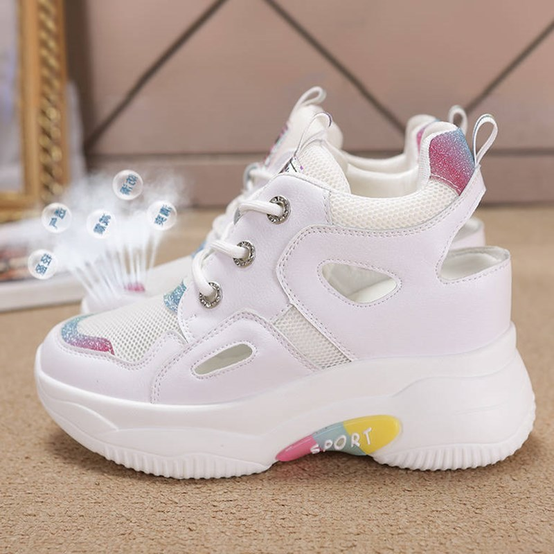 women shoes woman fashion sneakers female chunky sneaker