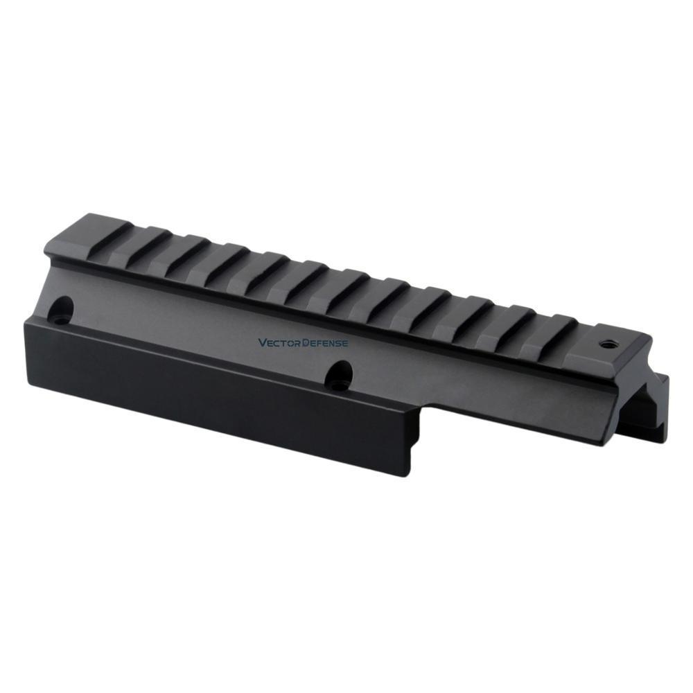 ناقلات البصريات Handguard HK H & K MP5/G3 قاعدة تثبيت السكك الحديدية Picatinny الشخصي المنخفض