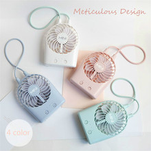 New usb rechargeable mini fan 2017 summer desktop 3 files electric small portable handheld