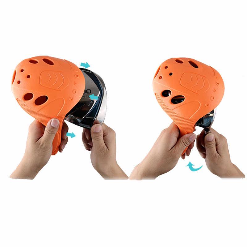 4 sztuk/zestaw PGM nakrycie głowy do gry w golfa 1/3/5/UT pełny zestaw słupów drewnianych wodoodporny materiał o wysokiej elastyczności łatwy w użyciu oszczędność miejsca