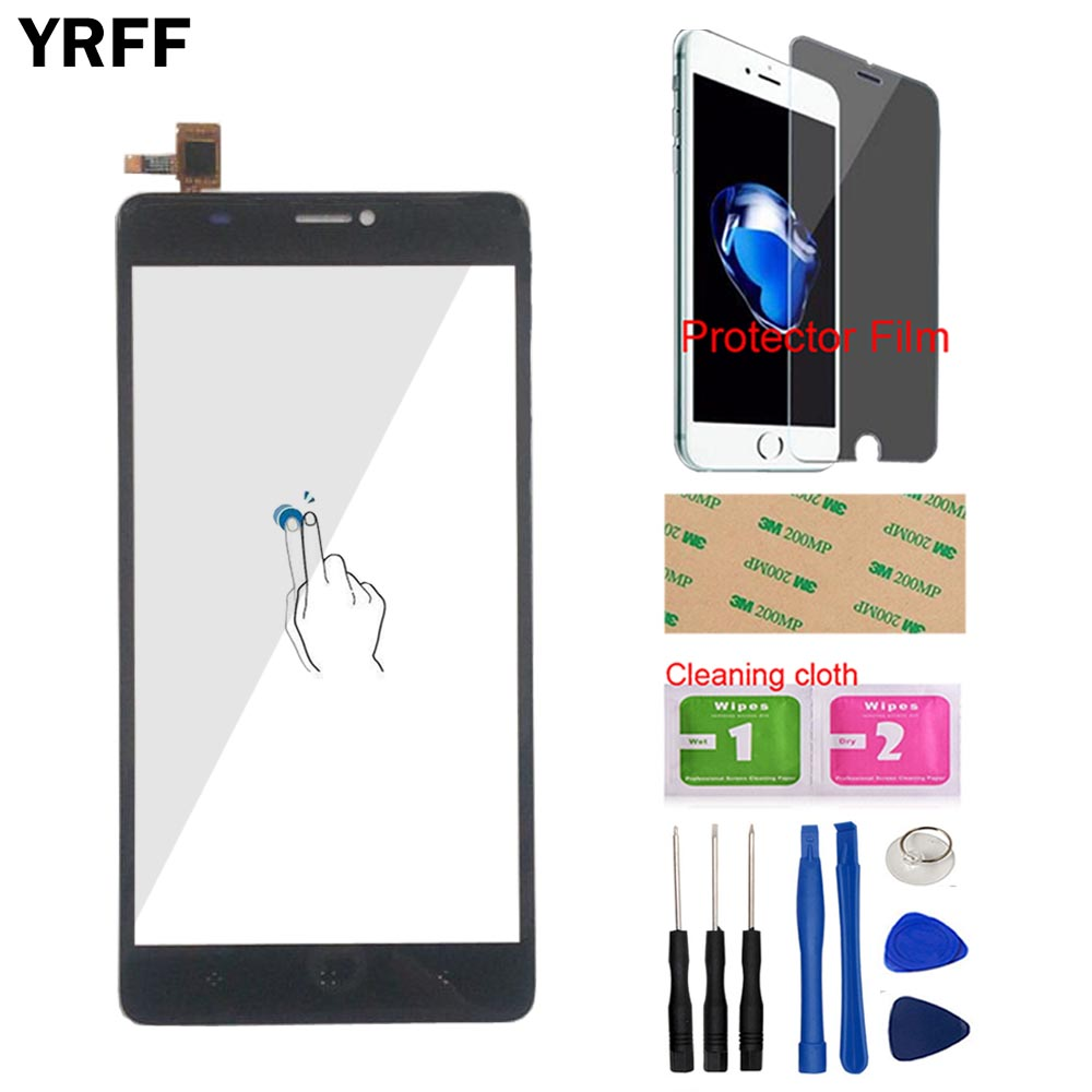 6'' Mobile Touch Screen For Elephone C1 Max Touch Screen Digitizer Panel Front Outer Glass Lens Sensor Tools Adhesive